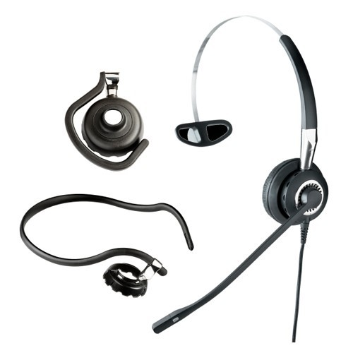 Jabra Biz 2400 II QD Mono 3-in-1 Balanced Noise Cancelling Headset