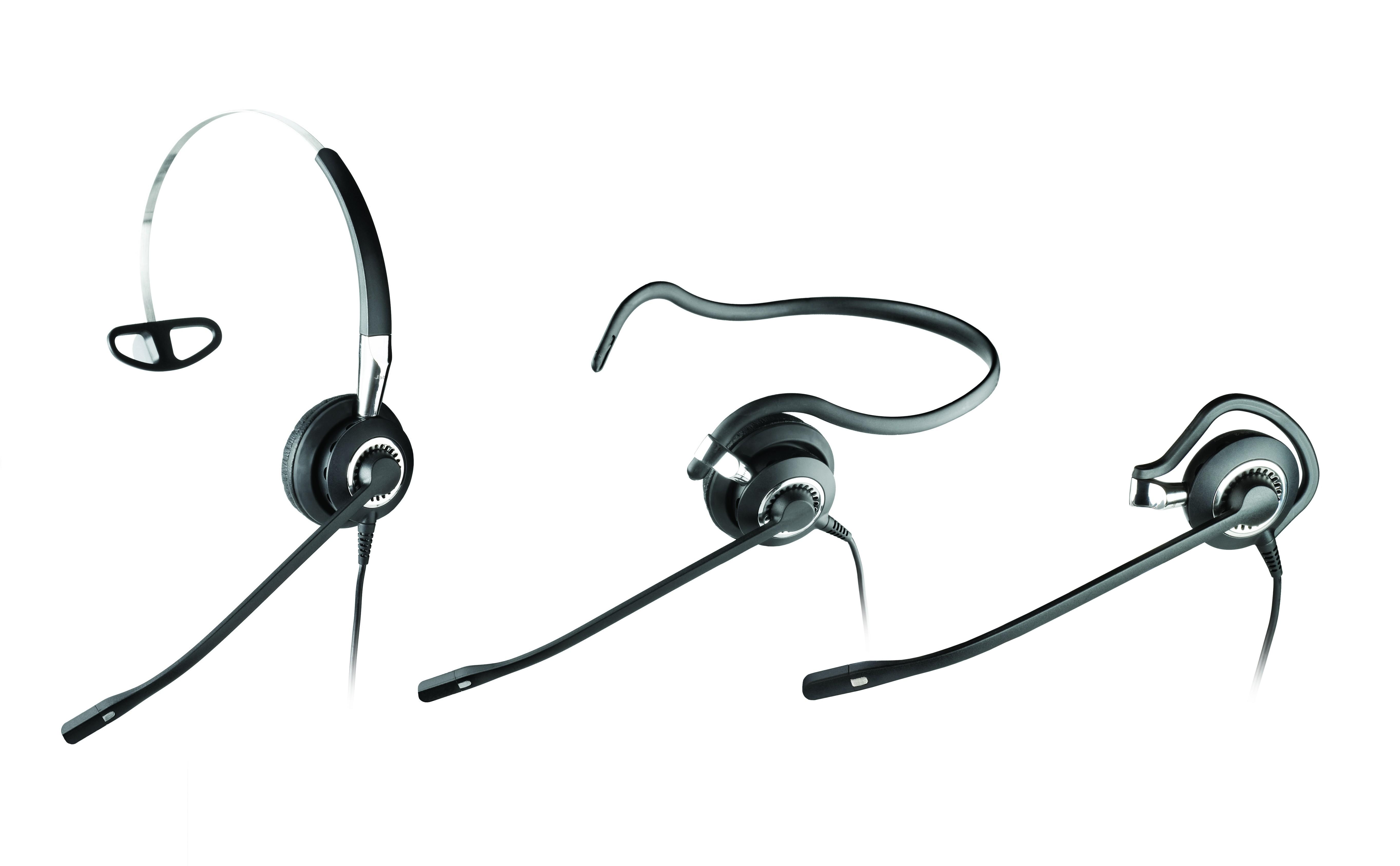 Jabra Biz 2400 II Mono 3-in-1 Noise Cancelling Headset