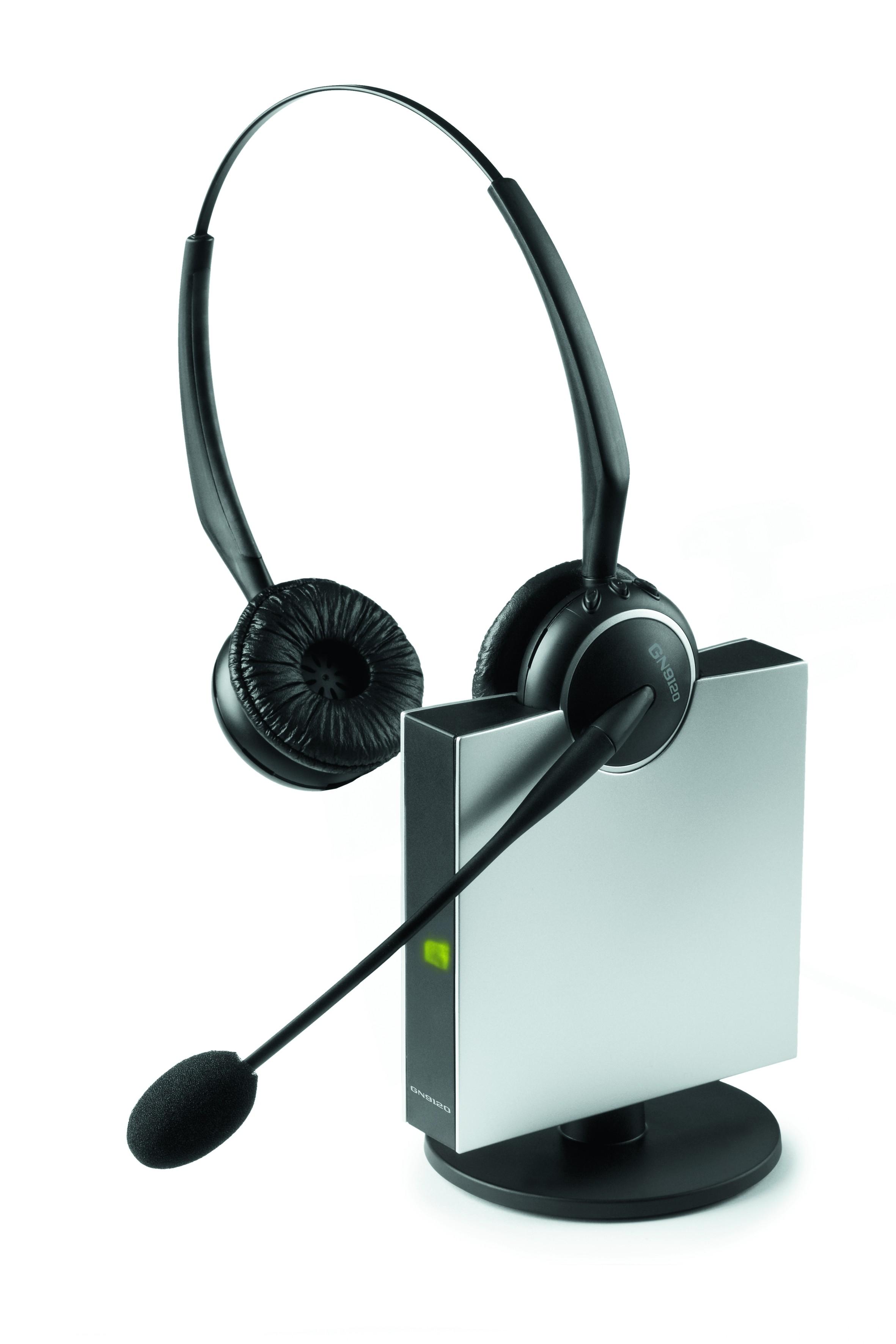 GN Netcom Jabra GN9120 Duo Wireless Headset - A Grade
