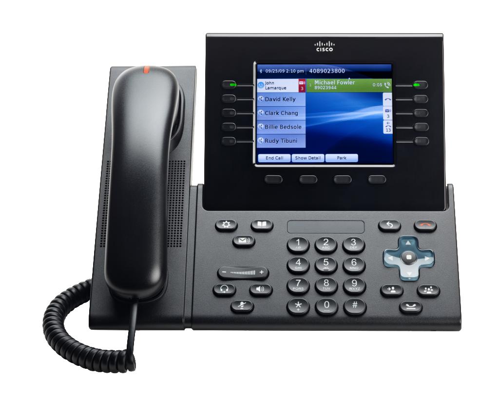 Cisco 8961 Unified IP Phone (Slimline)