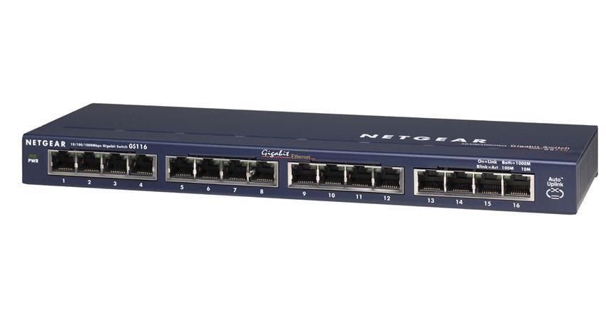 Netgear ProSafe™ 16 Port Gigabit Smart Switch
