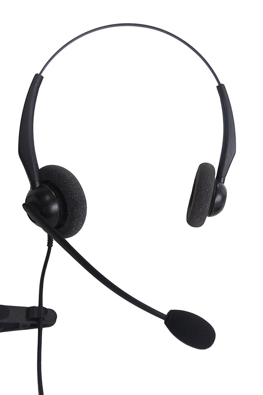 JPL 100 Binaural Noise Cancelling Office Headset
