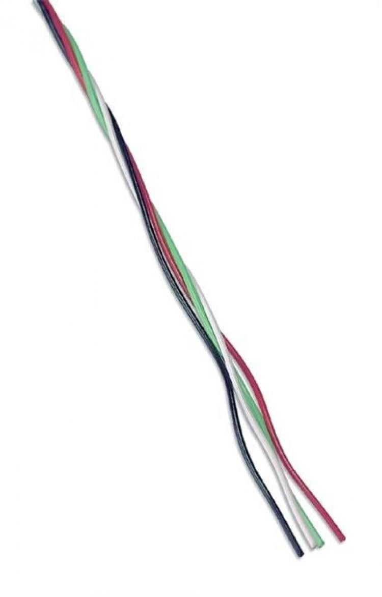 Jumper Wire Red/White 500m Roll