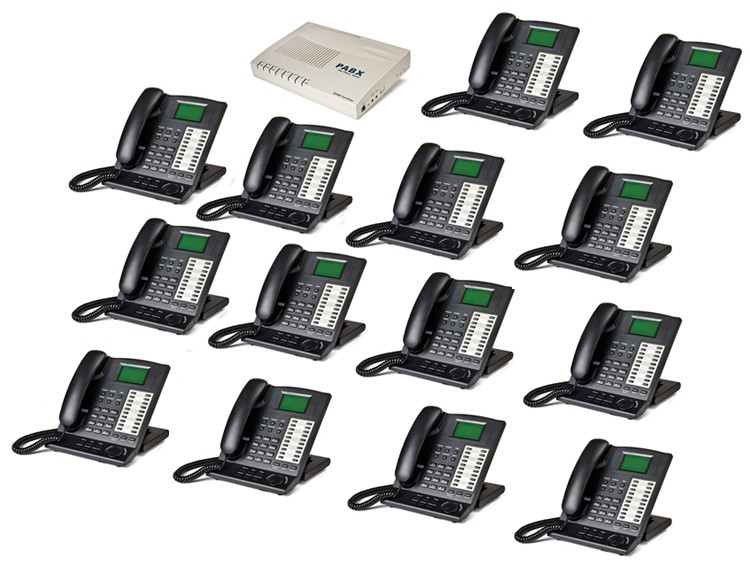 Orchid KS416 4 Line Telephone System and 14 x KP416 Key Telephones