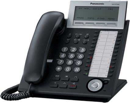 Panasonic KX-DT346 Digital Handset Black
