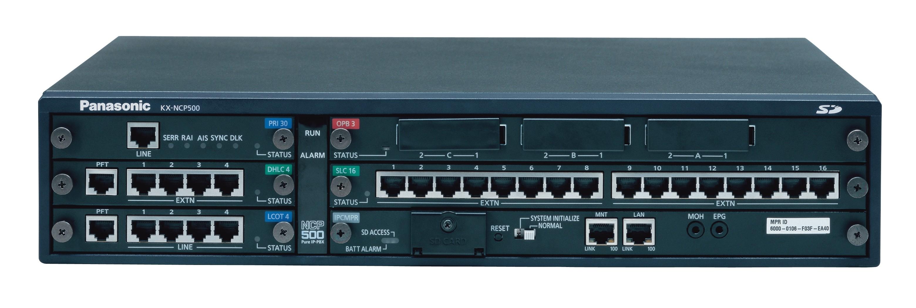 panasonic kx ncp500x pbx telephone system from 650 00 pmc telecom rh pmctelecom co uk Panasonic Cordless Phones Panasonic.comsupportbycncompass