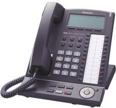 Panasonic KX-NT136 IP System Phone - Black