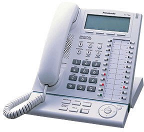 Panasonic KX-NT136 IP System phone - White