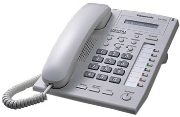Panasonic KX-T7668 Digital Handset - White A-Grade