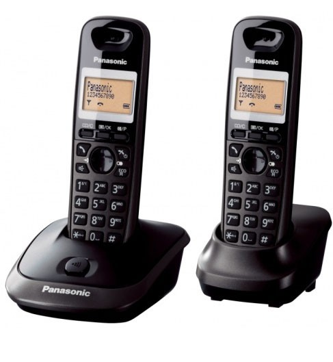 Panasonic KX-TG2512 Cordless Phones - Twin Pack