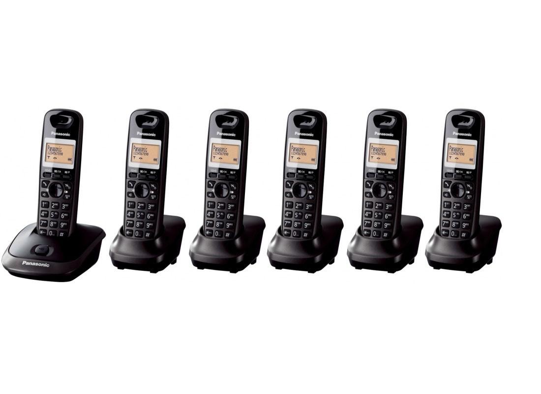 Panasonic KX-TG2516 Cordless Phones - Sextet Pack