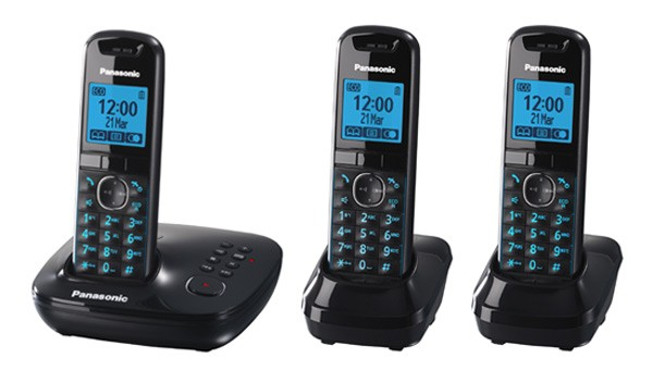 Panasonic KX-TG5523 Cordless Phone - Triple Pack