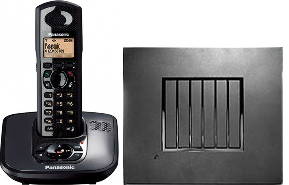 Panasonic KX-TG6481 Robust DECT Phone and RTX4002 Repeater Bundle
