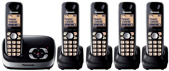 Panasonic KX-TG6525 Quint Digital Cordless Answering System