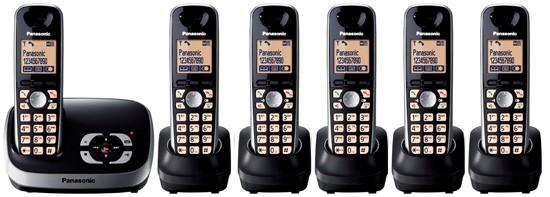Panasonic KX-TG6526 Sextet Digital Cordless Answering System
