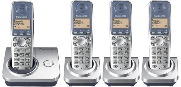 Panasonic KX-TG7204 Quad - Cordless Phones