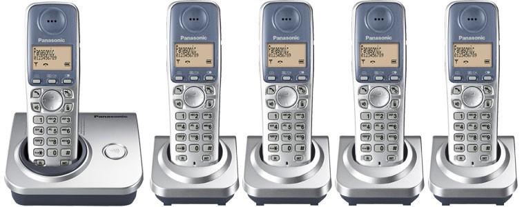 Panasonic KX-TG7205 Quint - Cordless Phones