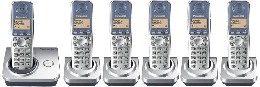 Panasonic KX-TG7206 Six Pack - Cordless Phones