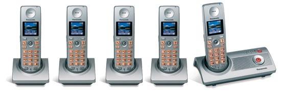 Panasonic KX-TG9125ES - Quint