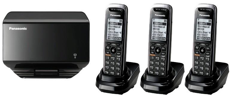 Panasonic KX-TGP500 Triple DECT Cordless SIP IP Phone
