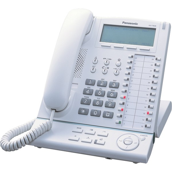 Panasonic KX-T7636 - White - A Grade