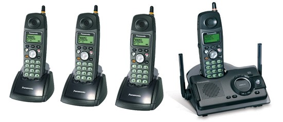 Panasonic KX-TCD290 ET Quad Ruggedised DECT with Answerphone