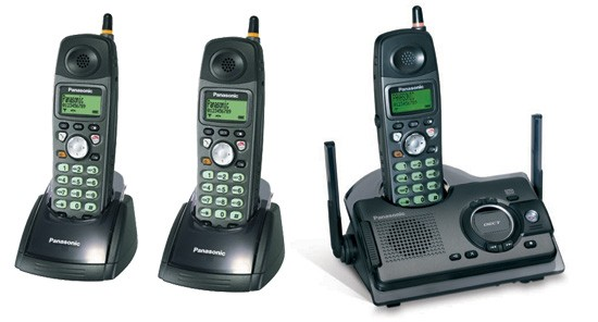 Panasonic KX-TCD290 ET Triple Ruggedised DECT with Answerphone