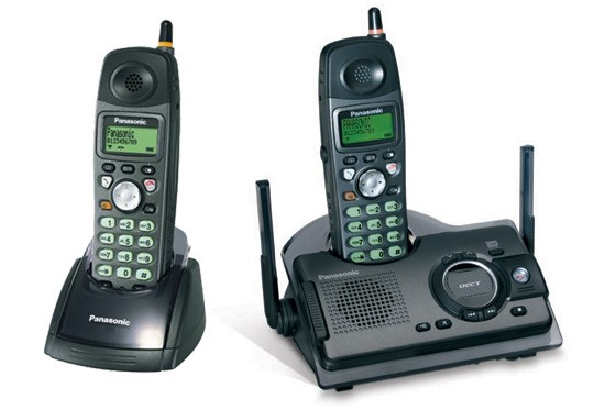 Panasonic KX-TCD290 ET Twin Ruggedised DECT with Answerphone