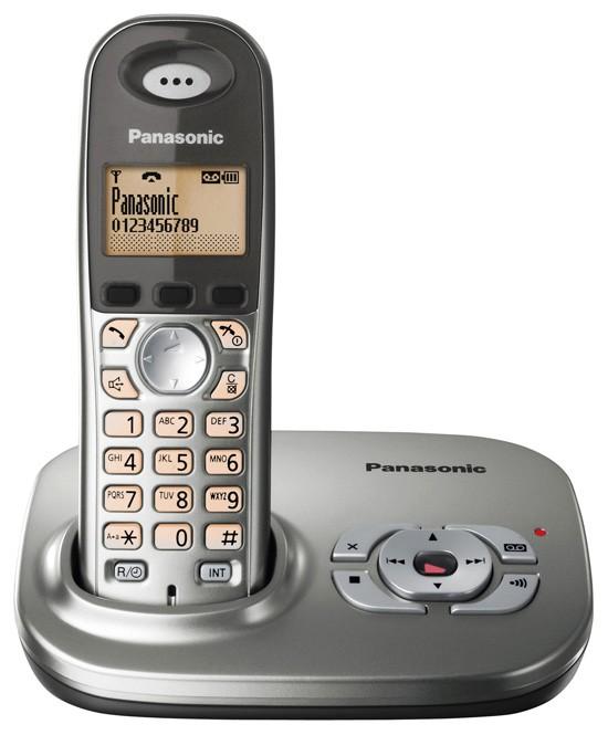Panasonic KX-TG7321 EG Cordless Phone with Answering Machine
