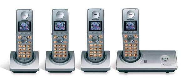 Panasonic KX-TG8104ES Quad