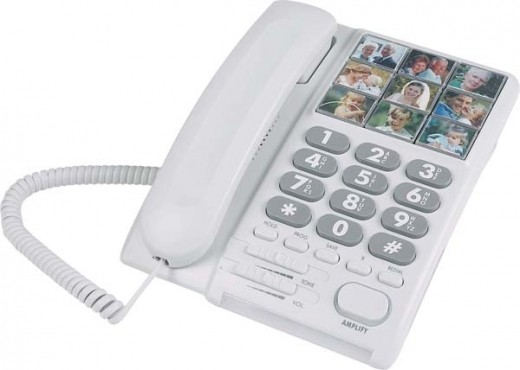Lazerbuilt Mybelle 640 Amplified Telephone