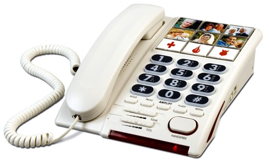 Lazerbuilt Mybelle 650 Amplified Telephone