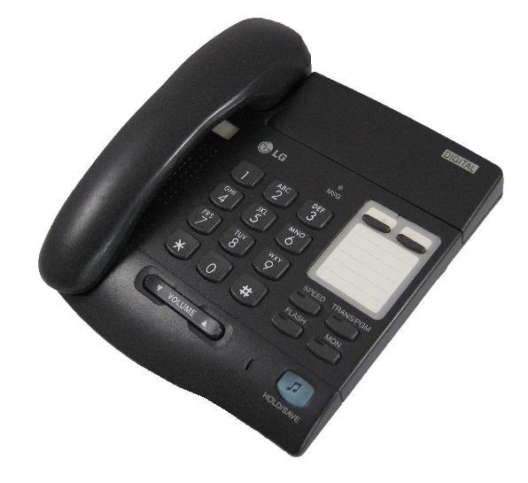 LG LKD 2 Button Handset - Black