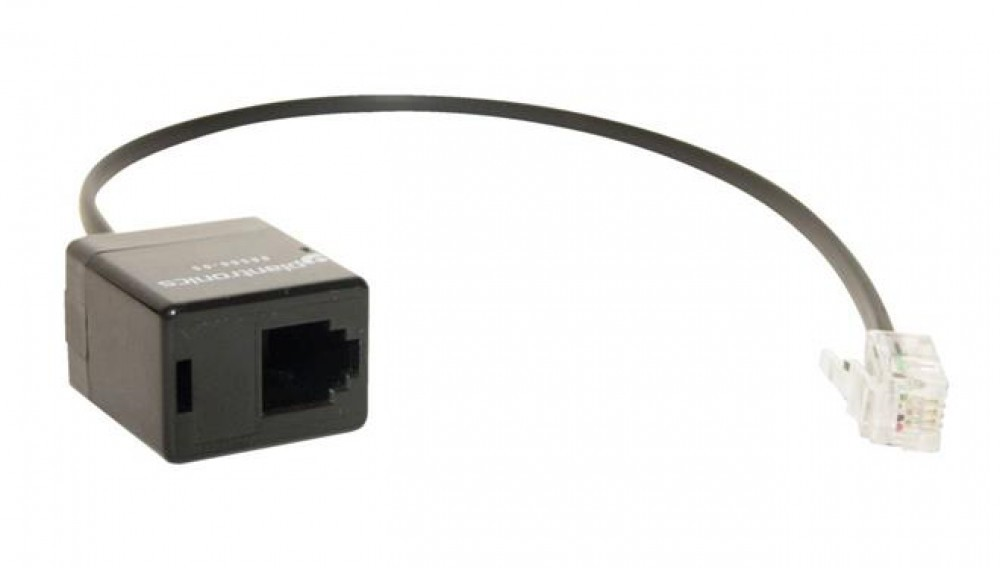 Plantronics M22 Adapter Cable Modular Straight