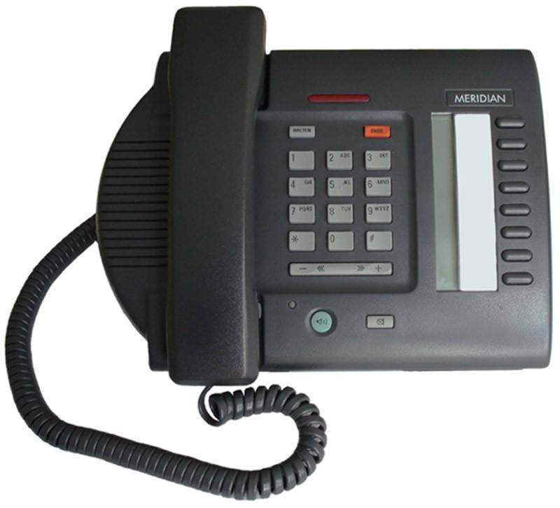 Nortel Meridian M3110 Digital Business Telephone - Black