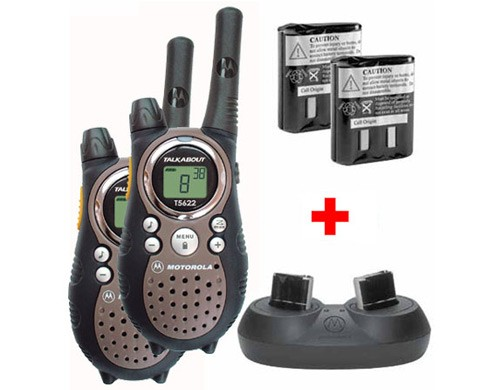 Motorola T5622 Twin + Acc Pack