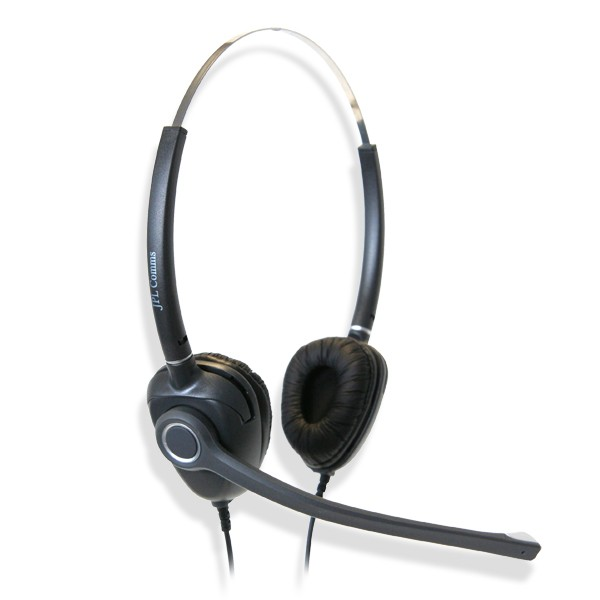 JPL MRC-PRO-01PB Dual Ear Noise Cancelling Headset (Including FREE Standard Connection Lead)
