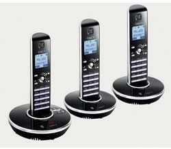 iDECT N1i DECT With Answering Machine - Triple Pack