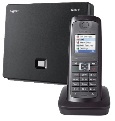 Siemens Gigaset N300IP DECT Base And E49H Additional Handset