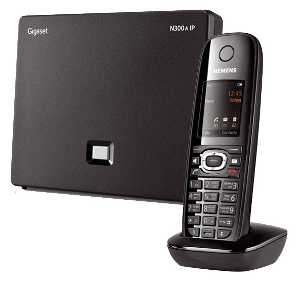 Siemens Gigaset N300A IP DECT Base With Answering Machine And C610H Additional Handset