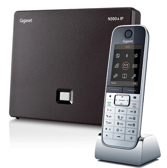 Siemens Gigaset N300A IP DECT Base With Answering Machine And SL78H Additional Handset