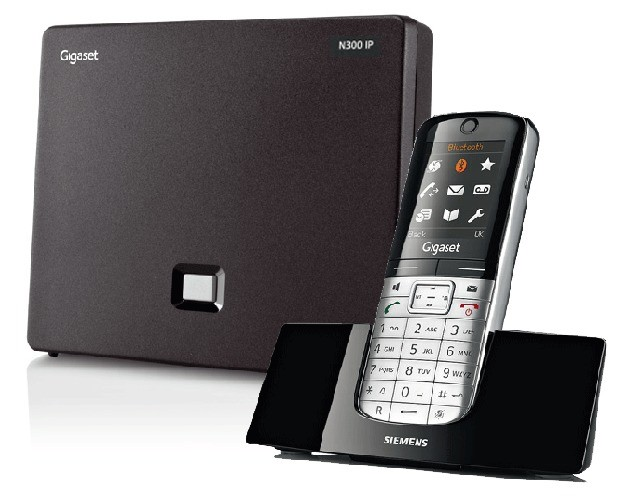 Siemens Gigaset N300IP DECT Base And SL400H Additional Handset