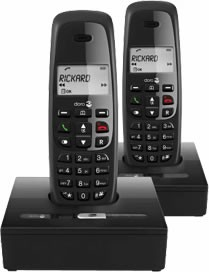 Doro NeoBio 15R+1 DECT Twin Answering Machine