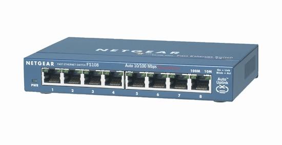 Netgear ProSafe™ 8-Port 10/100 Desktop Switch
