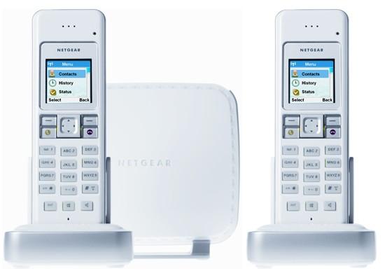 Netgear SPH200D Twin - Dual Mode, Skype & Landline Phone