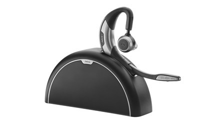 Jabra Motion UC+ Bluetooth Headset With Travel & Charger Kit
