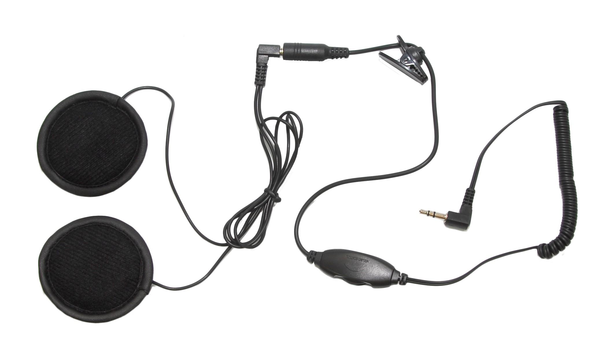 tork x pro motorcycle helmet speakers with volume control