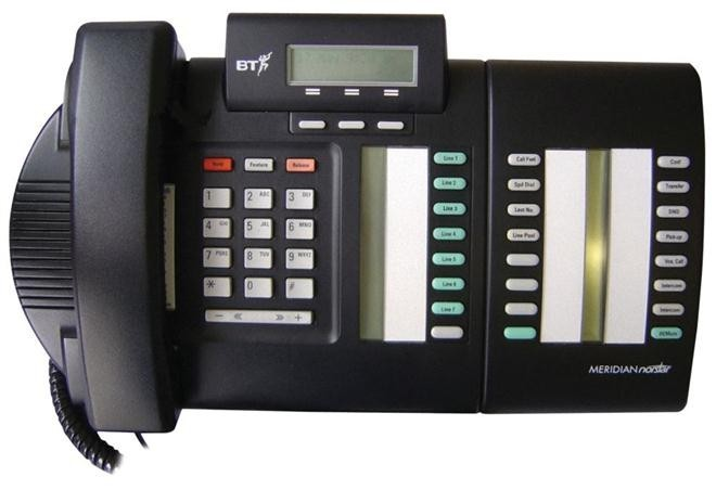 Nortel Norstar M7324N System telephone - Charcoal