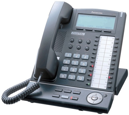 Panasonic KX-T7636 - Black