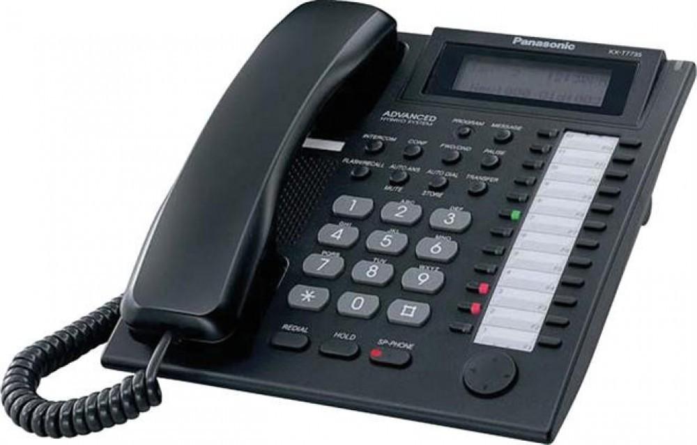 Panasonic KX-T7735 - Black